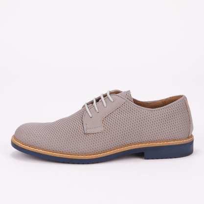 Γκρι δετά παπούτσια IGI & CO - ΓΚΡΙ 5103122