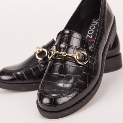 Loafers με croco μοτίβο