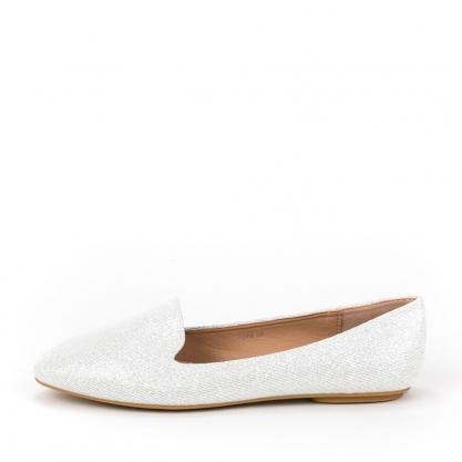 Loafers με glitter - ΑΣΗΜΙ 5259