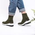 Μποτάκια knit sneakers