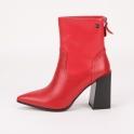 Κόκκινα μποτάκια Laura Biagiotti