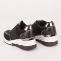 Sneakers πλατφόρμα με λάστιχο