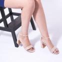 Πέδιλα με μοντέρνο τακούνι