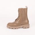 Army boots με λάστιχο και κορδόνια