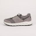 Ανατομικά γκρι δίχρωμα sneakers IGI&CO