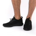 Ελαφριά μαύρα αθλητικά παπούτσια