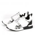 Δετά sneakers με animal print