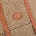 Τσάντα πλάτης με συνδυασμό υλικών