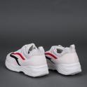 Λευκά sneakers με πλατφόρμα