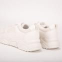 Μπεζ sneakers με chunky σόλα