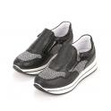 Ανατομικά δερμάτινα slip on sneakers Igi & Co