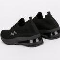 Knit sneakers με κορδόνια