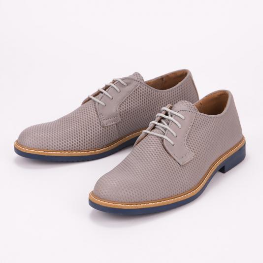 Γκρι δετά παπούτσια IGI & CO