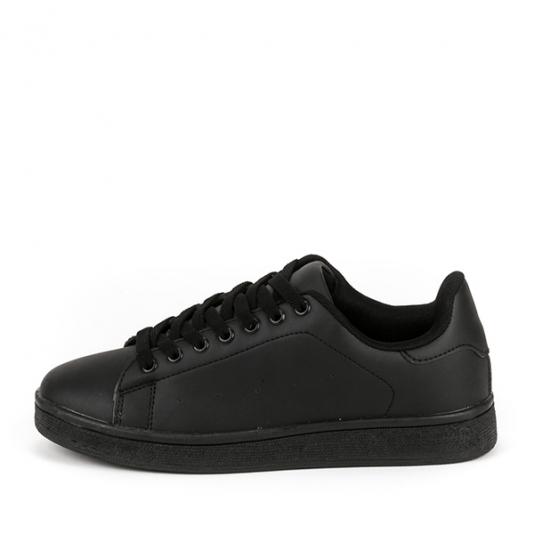 Μαύρα basic sneakers