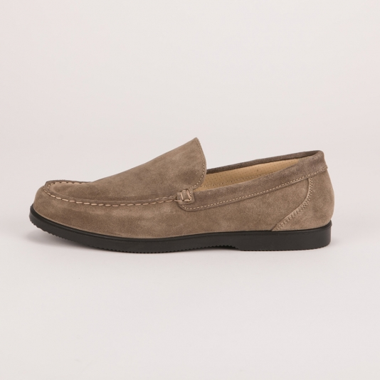 Μπεζ σουέντ loafers IGI&CO