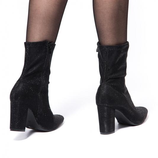 Μποτάκι κάλτσα μεταλλιζέ