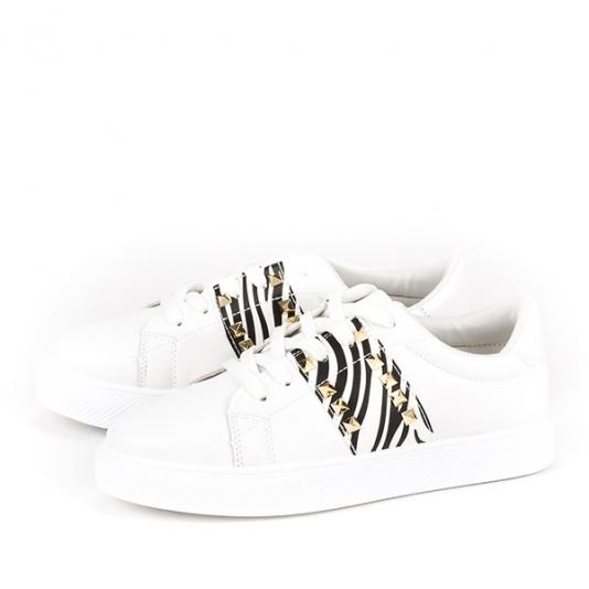 Sneakers με animal print