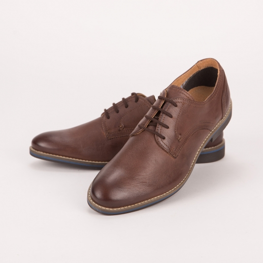 Καφέ δετά παπούτσια S&G