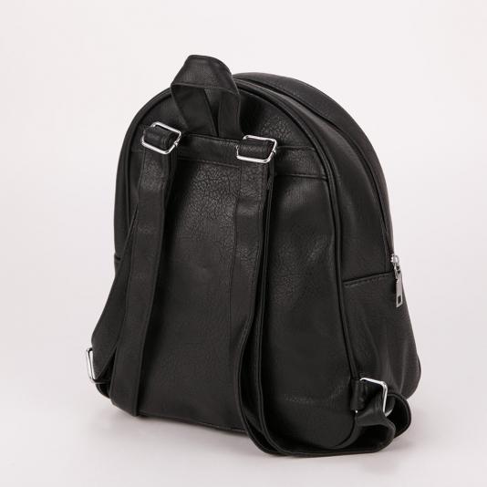 Τσάντα πλάτης με κάθετα φερμουάρ