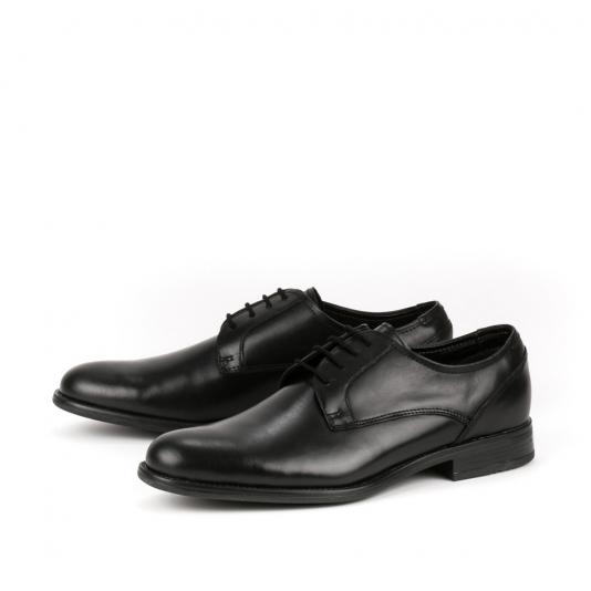 Μαύρα δερμάτινα παπούτσια
