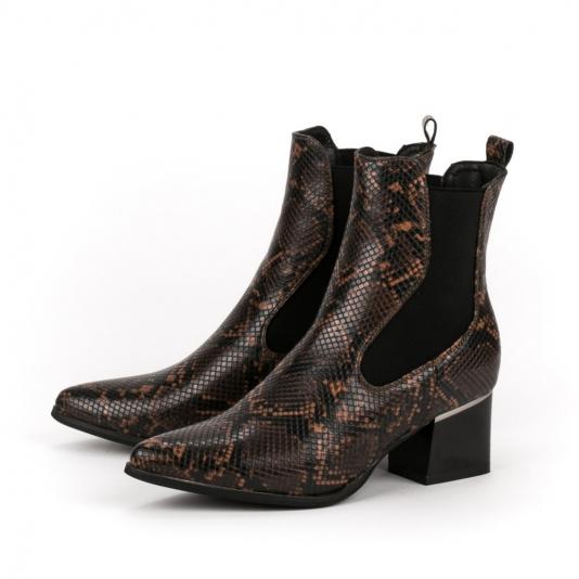 Cowboy μποτάκια snakeskin
