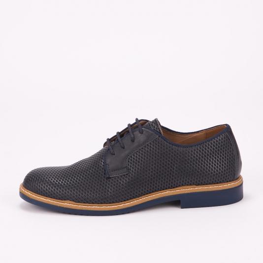 Μπλε  δετά  παπούτσια IGI & CO