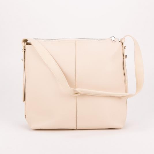 Τσάντα ώμου με μεταλλική λεπτομέρεια στο πλάι