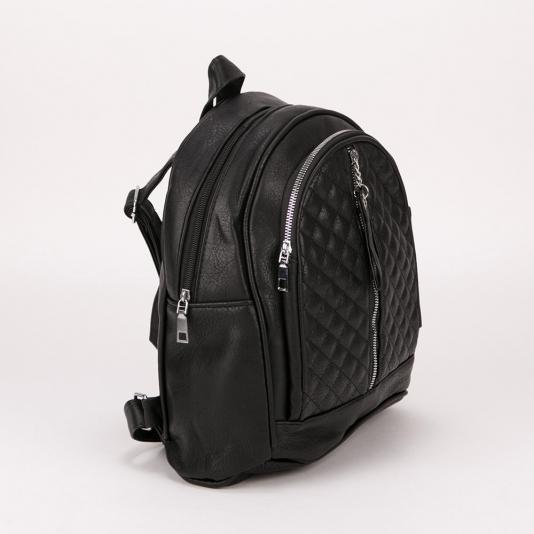 Backpack με καπιτονέ σχέδιο και φερμουάρ