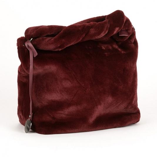 Γούνινη τσάντα ώμου