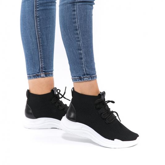Knit sneakers μποτάκια