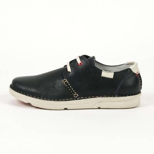 Δερμάτινα δετά παπούτσια Zen Age