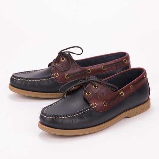 Dexter boat shoes με διχρωμία