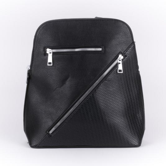 Τσάντα πλάτης με εξωτερικά φερμουάρ