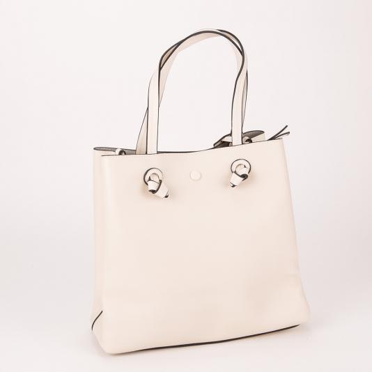 Τσάντα ώμου μονόχρωμη