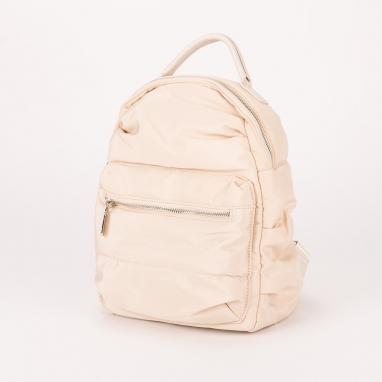 Τσάντα πλάτης μονόχρωμη υφασμάτινη
