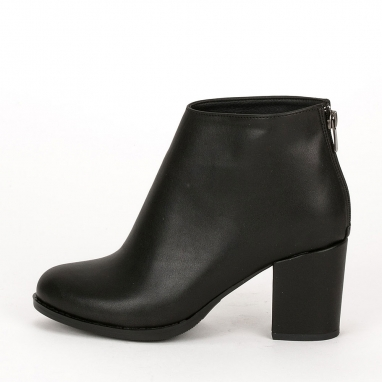 Ankle boots με χοντρό τακούνι
