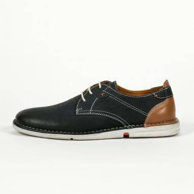 Δερμάτινα δετά παπούτσια Canguro