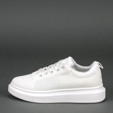 Knit sneakers πλατφόρμα