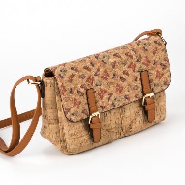 Τσάντα ταχυδρόμου από φελλό