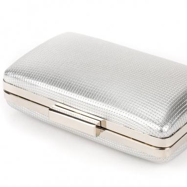 Clutch bag με στρογγυλεμένες άκρες