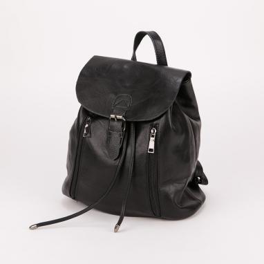 Τσάντα πλάτης με καπάκι