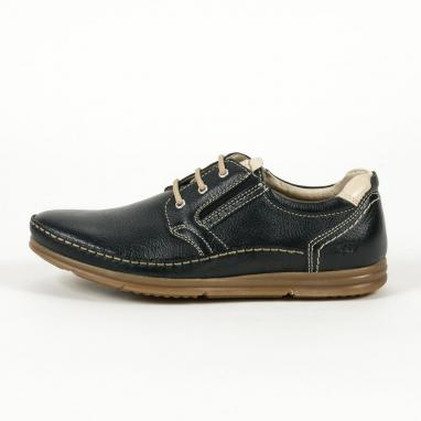 Ανατομικά δερμάτινα παπούτσια Zen Age
