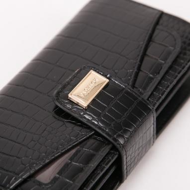 Πορτοφόλι με κροκό υφή