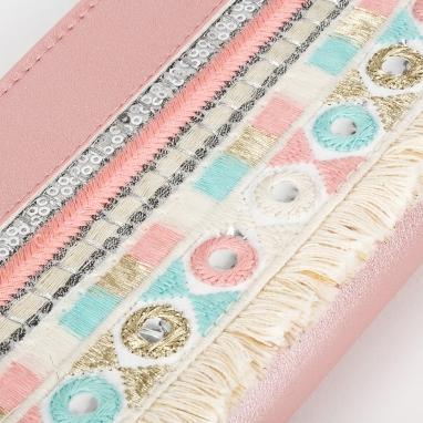 Πορτοφόλι με σχέδιο boho