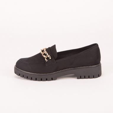 Loafers με αλυσίδα