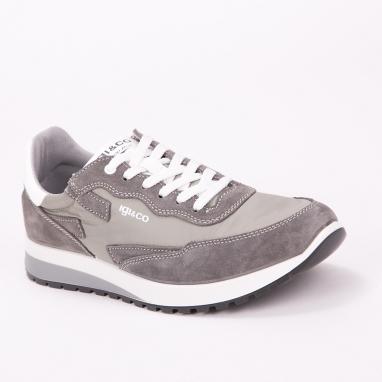 Γκρι sneakers IGI & CO