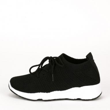 Knit διάτρητα sneakers