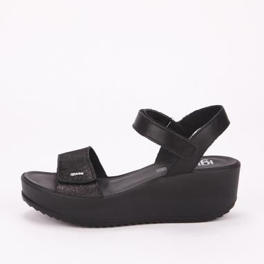 Μαύρες comfort πλατφόρμες IGI & CO